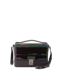 3.1 Phillip Lim Pashli Mini Flap Messenger Bag, Black