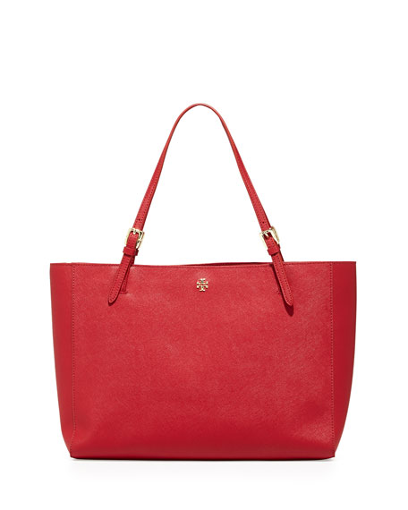 Tory BurchYork Saffiano Leather Tote Bag, Kir Royale
