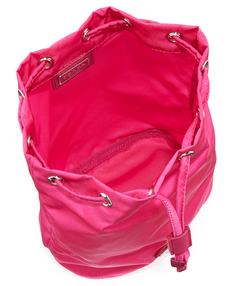 Vela Drawstring Pouch, Pink (Fuxia)