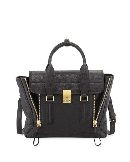 3.1 Phillip Lim Pashli Medium Zip Satchel Bag,