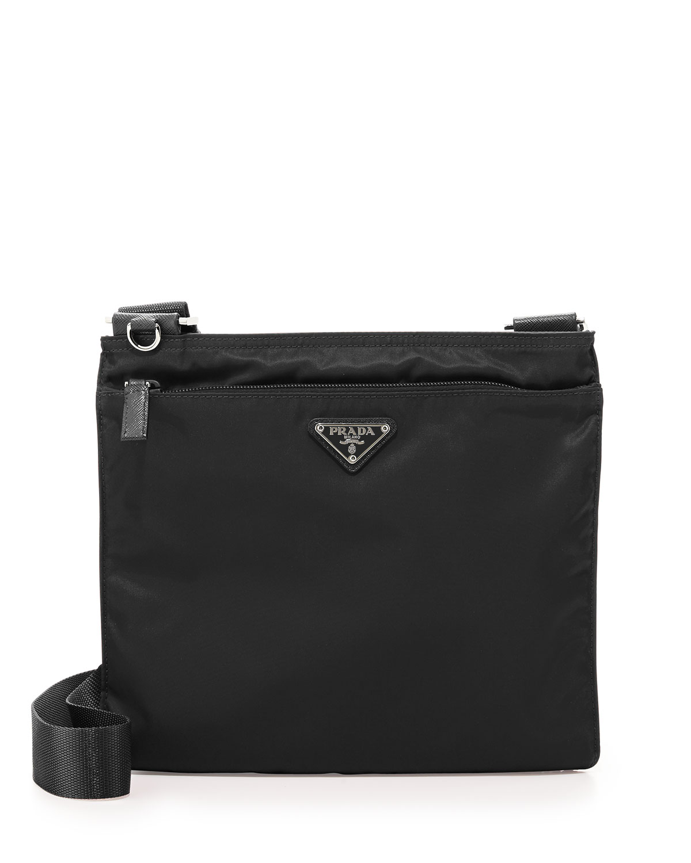 Quick Look. Prada · Small Nylon Crossbody Bag. Available in Black 0715d435ffa02