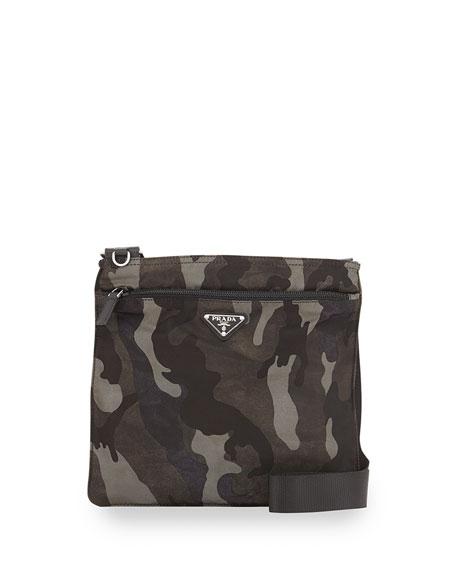 red prada bag - Prada Tessuto Camo-Print Crossbody Bag, Gray Multi (Fumo)