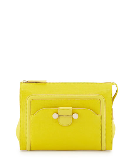 Jason Wu Daphne 2 Clutch Bag, Citron