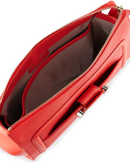 Daphne 2 Clutch Bag, Coral