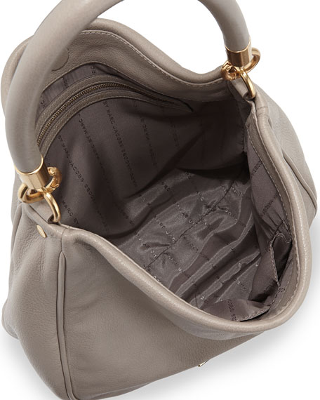 Too Hot to Handle Hobo Bag, Cement