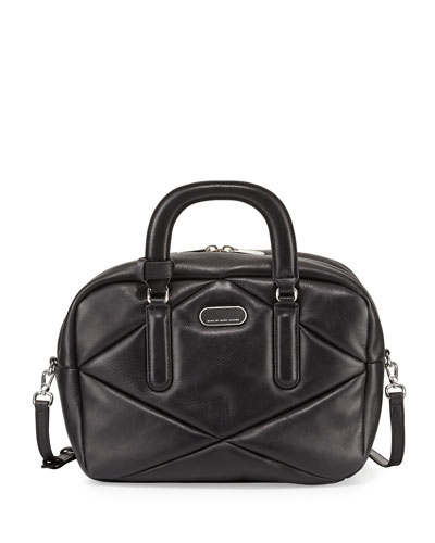 3ee4f57835 MARC by Marc Jacobs Turn Around Leather Satchel Bag, Black