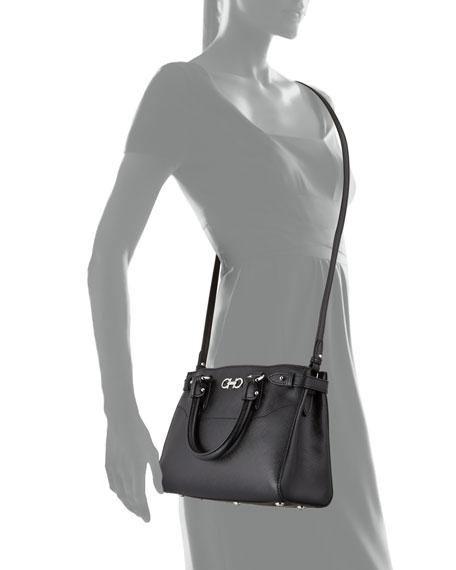 7938cc7cf5 Salvatore Ferragamo Batik Small Saffiano Tote Bag