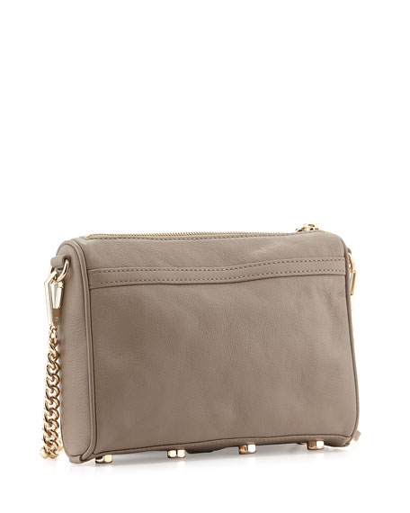 Mini MAC Crossbody Bag, Taupe
