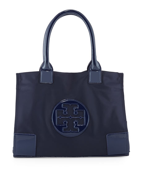 Tory Burch Ella Mini Nylon Tote Bag, French