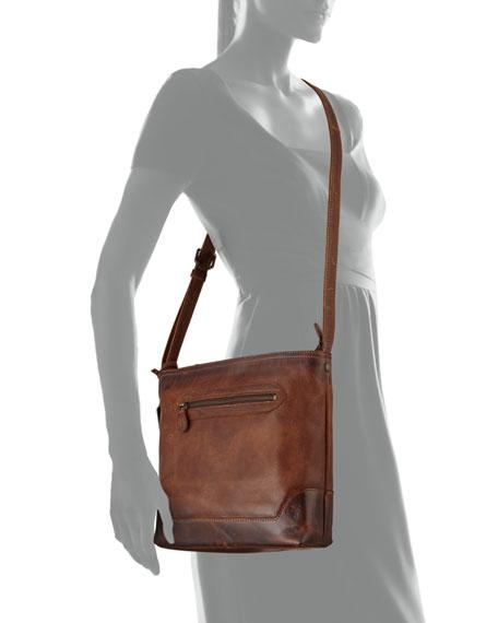 Frye Melissa Tumbled Leather Crossbody Bag