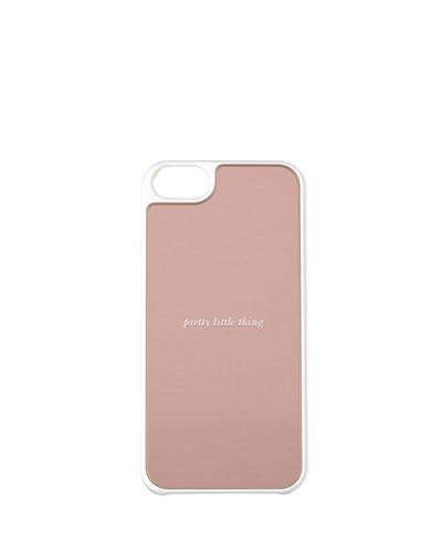 pretty little thing iphone 5 case, rosy dawn