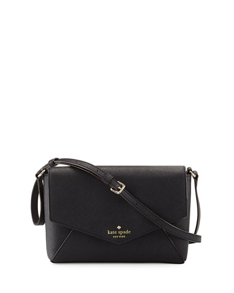 cedar street monday large crossbody bag, black