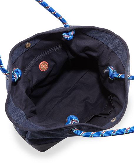 Kellyn Canvas Tote Bag, Tory Navy