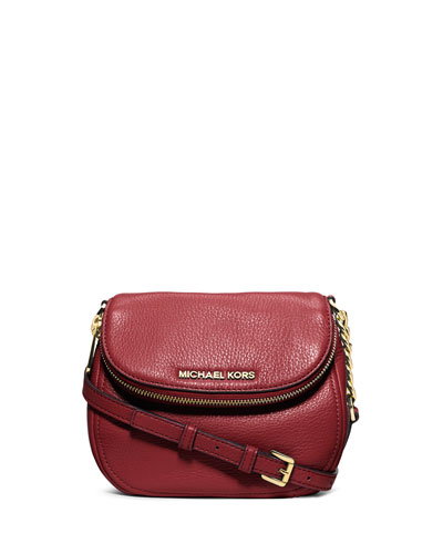 Bedford Flap Crossbody Bag, Red