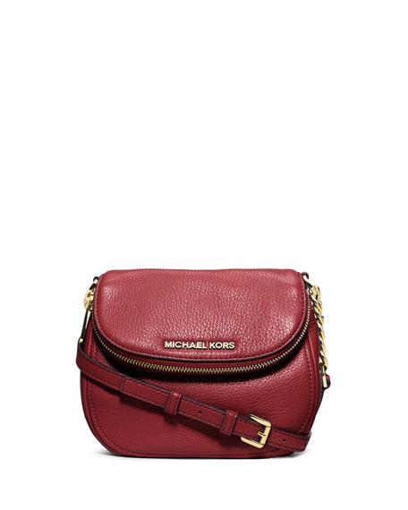 michael kors bedford flap crossbody bag red. Black Bedroom Furniture Sets. Home Design Ideas
