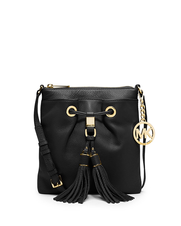6a4808c08f892d MICHAEL Michael Kors Camden Crossbody Bag, Black   Neiman Marcus