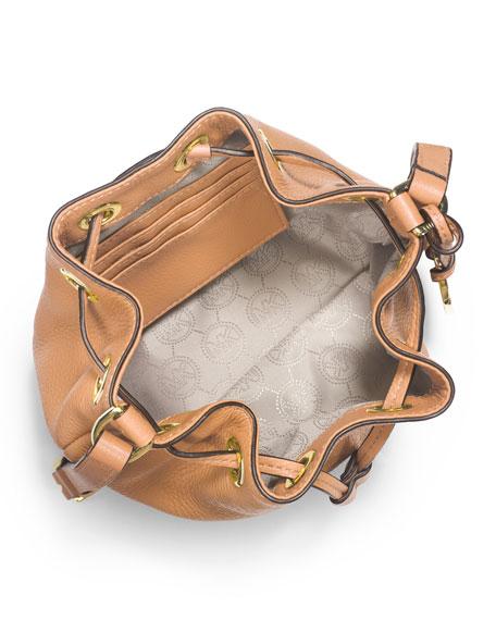ab45ec0d7d ... Mini Drawstring Crossbody Bag Brown 35H5GJLC3B Michael Kors Jules  Drawstring Crossbody in Black Handbags Am Jules Drawstring Crossbody Bag