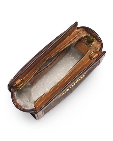 Selma Mini Messenger Bag, Brown