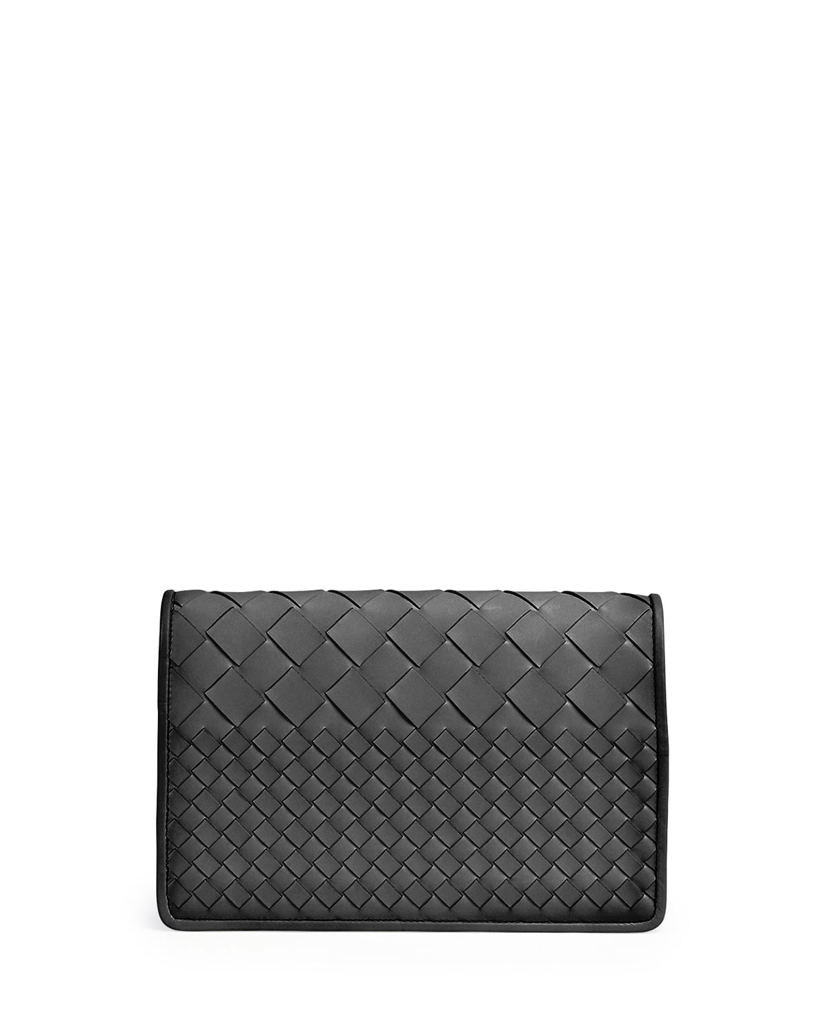 fd2fff466cf5 Bottega Veneta Intrecciato Medium Woven Clutch Bag