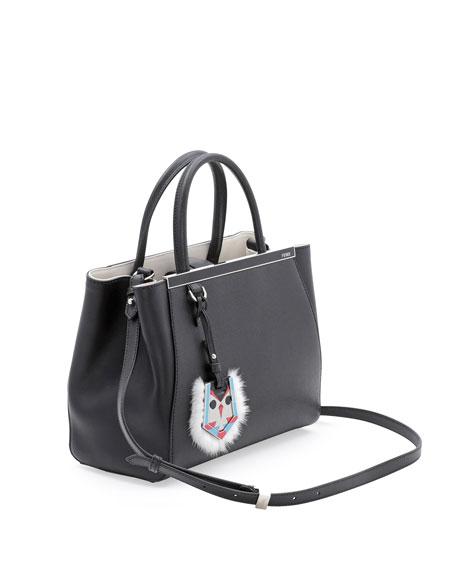 chloe black and white bag - fendi 2jours small monster face satchel, cheap fendi handbags