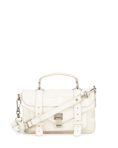 Proenza Schouler PS1 Tiny Shoulder Bag White<br />