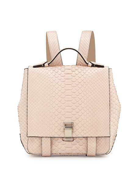 PS Small Python Backpack, Beige