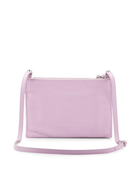 Paper Envelope Crossbody Bag, Lavender Pink