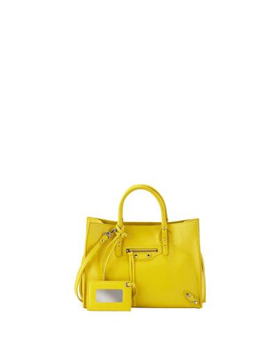 69cf7a0da3a 1 - Reviews Balenciaga Papier A6 Zip Around Tote Bag Yellow - #SaloSalez