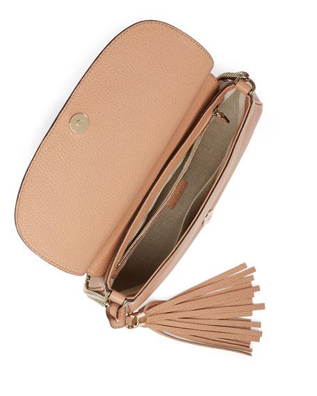 30e2d264e159 Gucci Soho Medium Crossbody Bag, Beige
