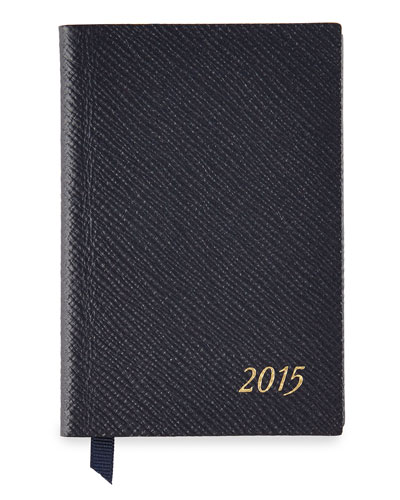 2015 Wafer Diary with Pencil, Navy