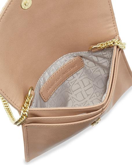 Tina Studded Crossbody Bag, Nude