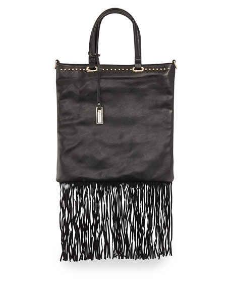 Urban Originals Runway Lover Fringe Shopper Tote Bag