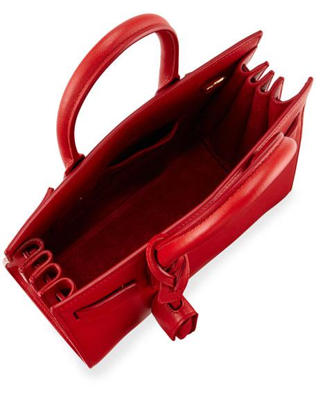 ysl outlet usa - Saint Laurent Sac de Jour Nano Satchel Bag, Red