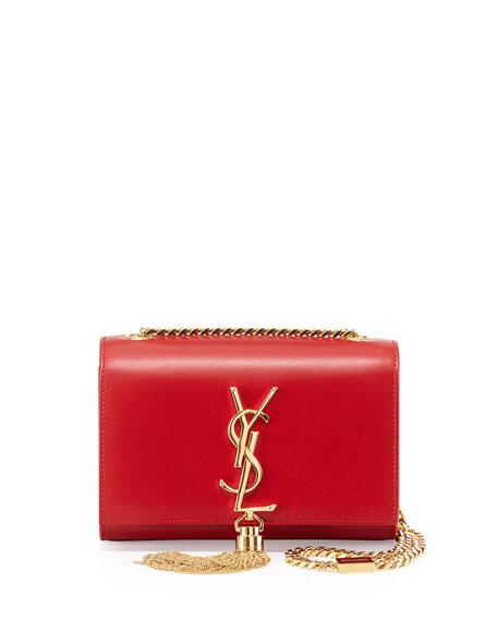Saint Laurent Monogram Small Crossbody Bag Red Neiman