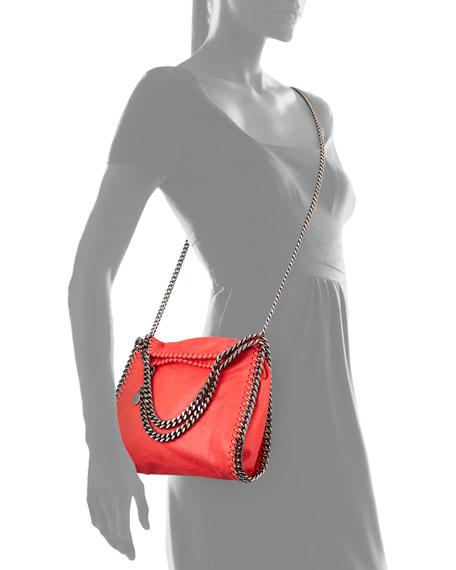 Falabella Mini Tote Bag, Bright Coral