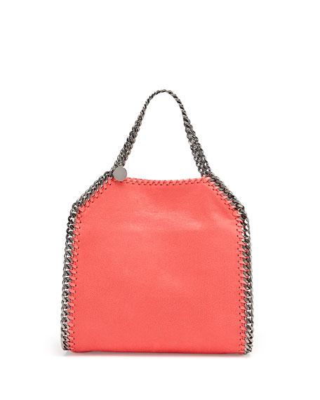 Stella McCartney Falabella Mini Tote Bag, Bright Coral