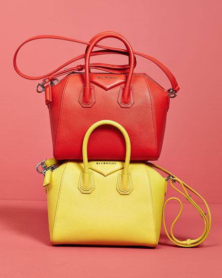 Givenchy Antigona Mini Leather Satchel Bag 49561fe40ebb8