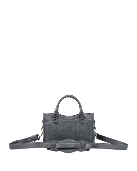 Classic Mini City Bag, Anthracite