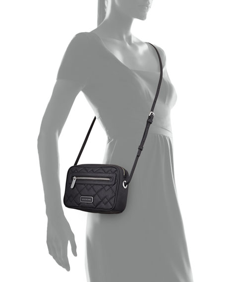 MARC by Marc Jacobs Sally Quilted Crossbody Bag, Black : marc jacobs quilted crossbody bag - Adamdwight.com