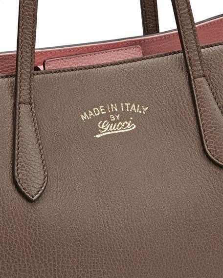 341214f66ad Gucci Gucci Swing Leather Tote Bag