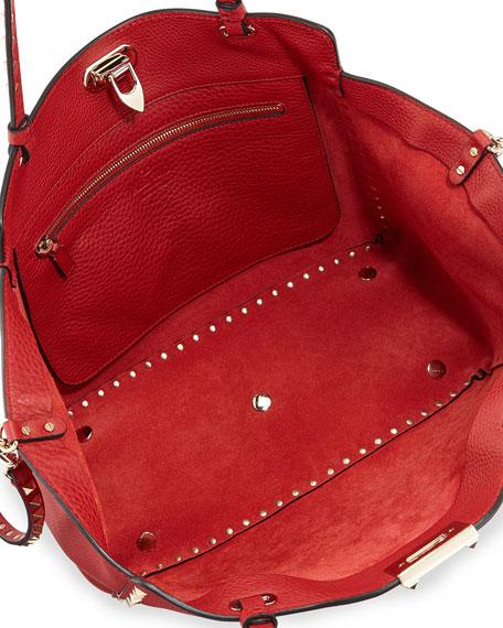 1e5b38e2ced6 Valentino Garavani Rockstud Medium Grained Tote Bag