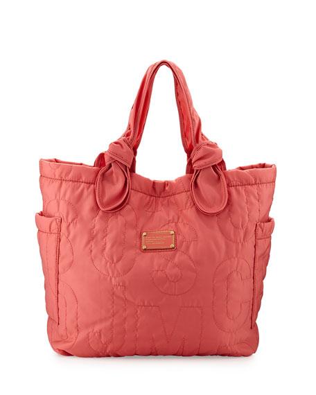 MARC by Marc Jacobs Pretty Nylon Tate Medium Tote Bag, Rose Bush 25e444c5adca