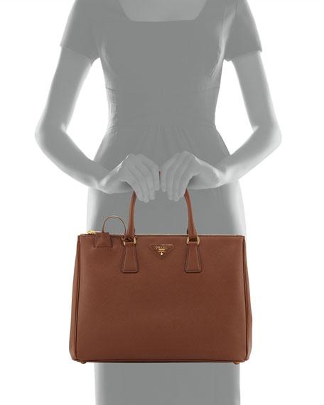 Saffiano Executive Tote Bag, Brown (Palissandro)