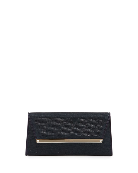 Jimmy Choo Margot Glitter Wallet Clutch Bag, Lame