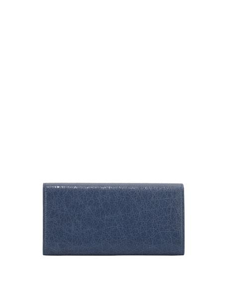 Giant 12 Golden Money Wallet, Bleu Persan