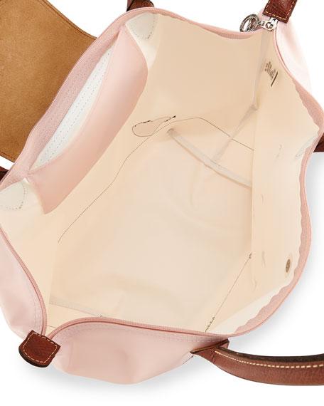 Longchamp Le Pliage Oiseaux Tote Bag, Pale Pink df1b8800a7