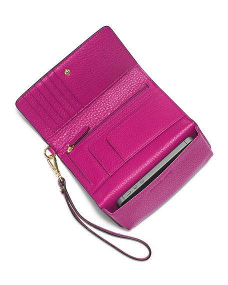 Fulton Large Multifunction Smart Phone Wristlet Wallet, Fuchsia