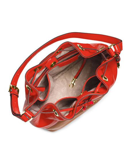 Jules Large Drawstring Shoulder Bag MandarinLuggage