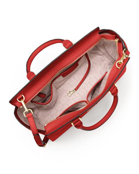 f7a3c3326a68 MICHAEL Michael Kors Selma Large Saffiano Satchel Bag, Mandarin