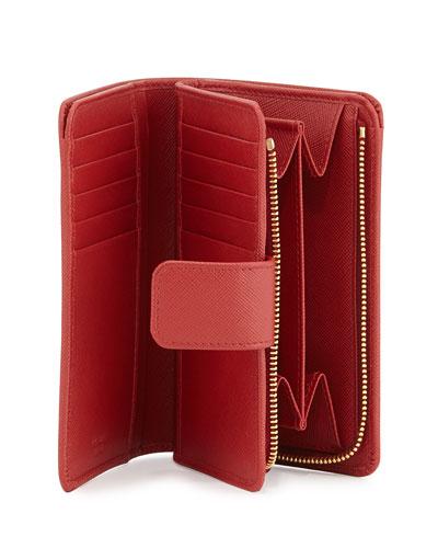 Prada Red Interior Prada Wallet Black Leather